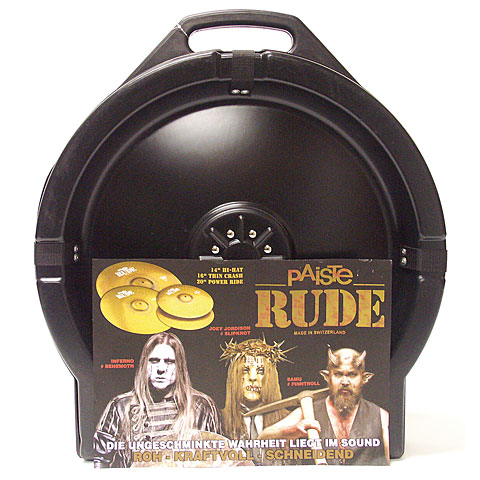 Paiste RUDE Rude-Set 14HH/16TC/20R