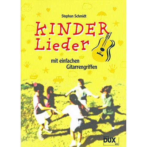 Notenbuch Dux Kinderlieder mit einfachen Gitarrengriffen