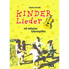 Dux Kinderlieder mit einfachen Gitarrengriffen « Libro de partituras