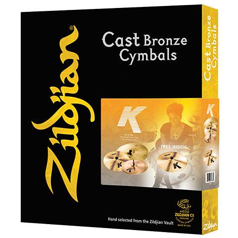 Becken-Set Zildjian K Cymbal Set 14HH/16C/18C/20R