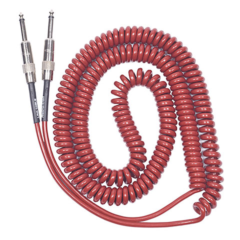 Lava Cable Retro Coil 6,6m Red