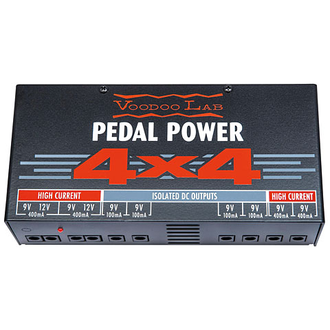 Alimentation guitare/basse VoodooLab Pedal Power 4x4
