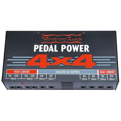 Alimentador guit./bajo VoodooLab Pedal Power 4x4