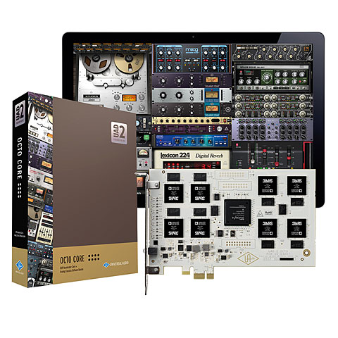 universal audio uad 2 octo audio interface. Black Bedroom Furniture Sets. Home Design Ideas
