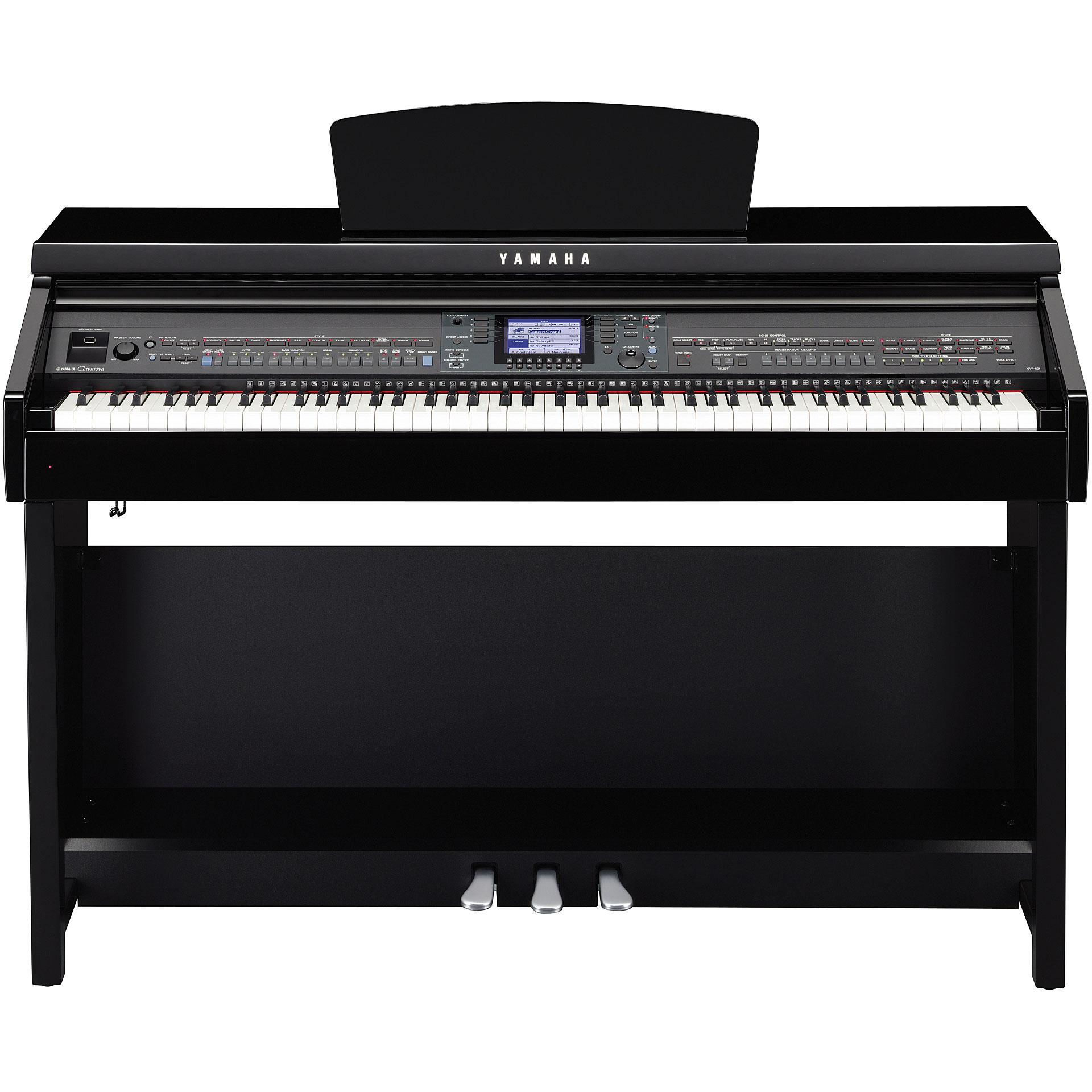 Yamaha clavinova cvp 601 pe digital piano for Yamaha clavinova cvp 601