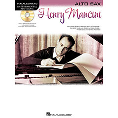 Hal Leonard Henry Mancini for Alto Sax « Play-Along