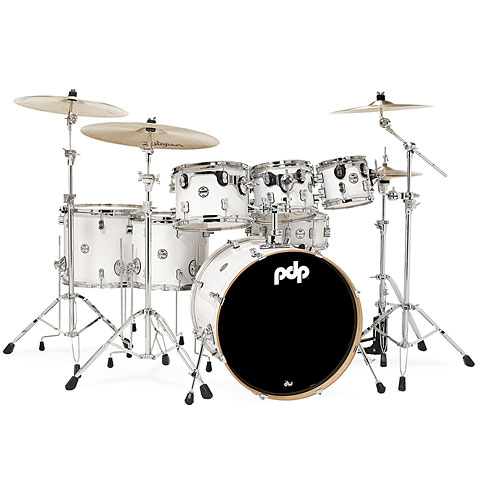 Schlagzeug pdp Concept Maple CM7 Pearlescent White