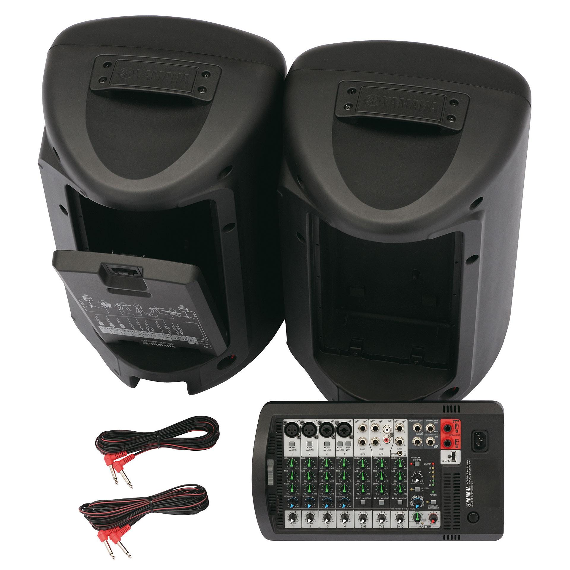 yamaha stagepas 600i passive pa speakers. Black Bedroom Furniture Sets. Home Design Ideas