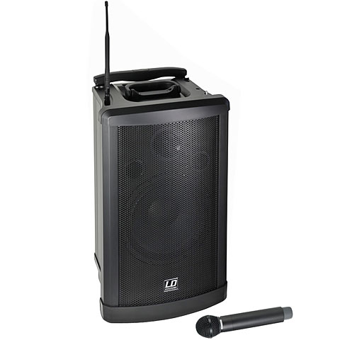 Set sono PA sur batterie LD Systems Roadman 102