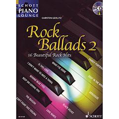 Schott Schott Piano Lounge Rock Ballads 2 « Bladmuziek