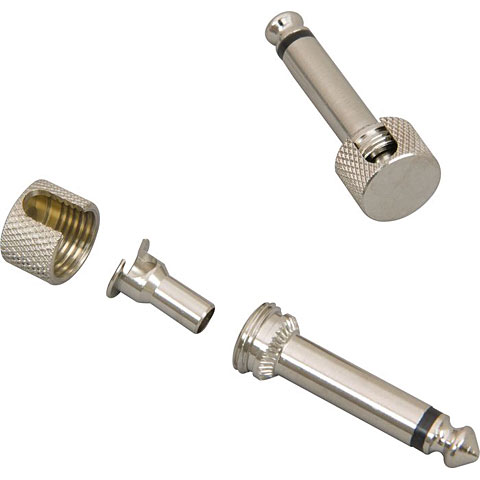 Conector de Jack Lava Cable Lava Plug Right Angle Nickel
