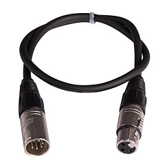 LightTeknik DMX Adapter 5M > 3F « Cable de control
