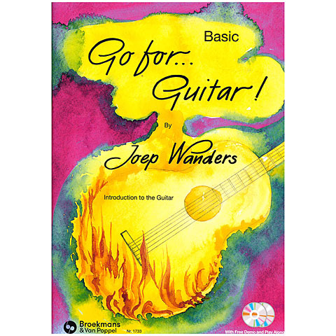 Notenbuch BVP Basic Go For Guitar