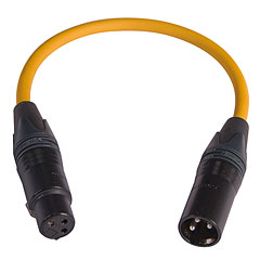 AudioTeknik MFM-LIFT 0,2 m yellow « Adapter/Kupplung
