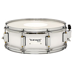 "Gewa Marching Snare Drum 14"" x 5"" White « Marching Snare"