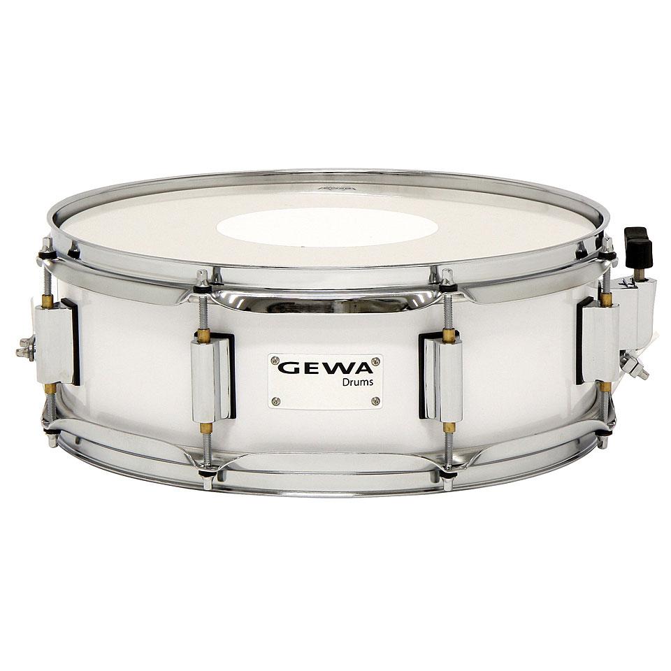 Marching - Gewa Marching Snare Drum 14 x 5 White Kleine Trommel - Onlineshop Musik Produktiv