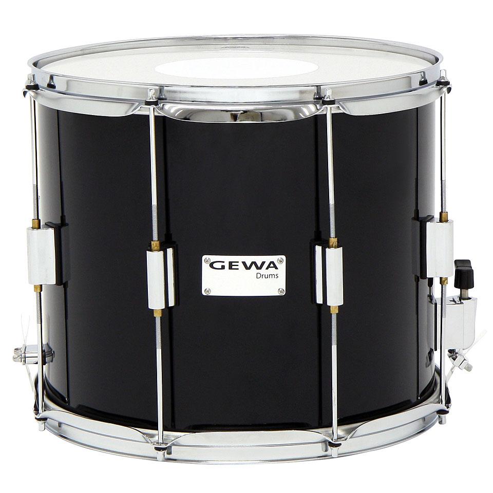 gewa parade snare drum 14 x 12 black parade snare. Black Bedroom Furniture Sets. Home Design Ideas