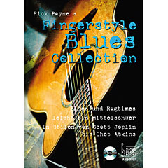 Acoustic Music Books Fingerstyle Blues Collection « Recueil de Partitions