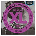 Cuerdas guitarra eléctr. D'Addario EXL156 Nickel Wound .024-084
