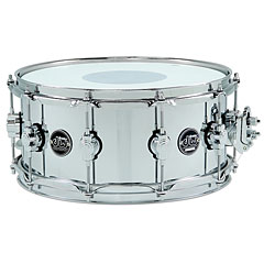 "DW Performance 14"" x 6,5"" Steel Snare « Caja"