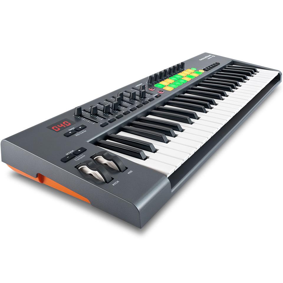 novation launchkey 49 master keyboard. Black Bedroom Furniture Sets. Home Design Ideas