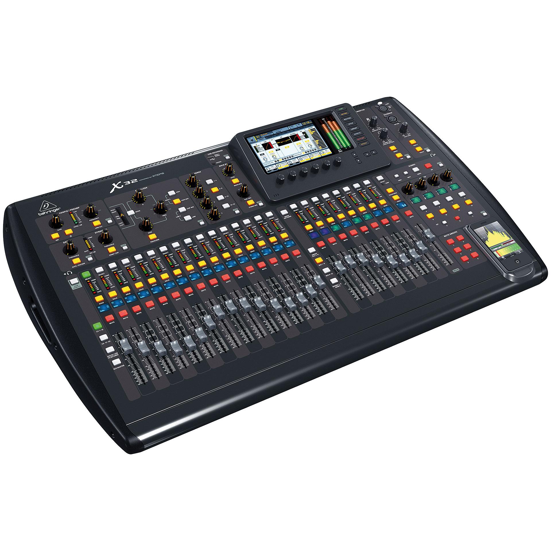 Behringer x32 console de mixage num rique - Console numerique behringer ...