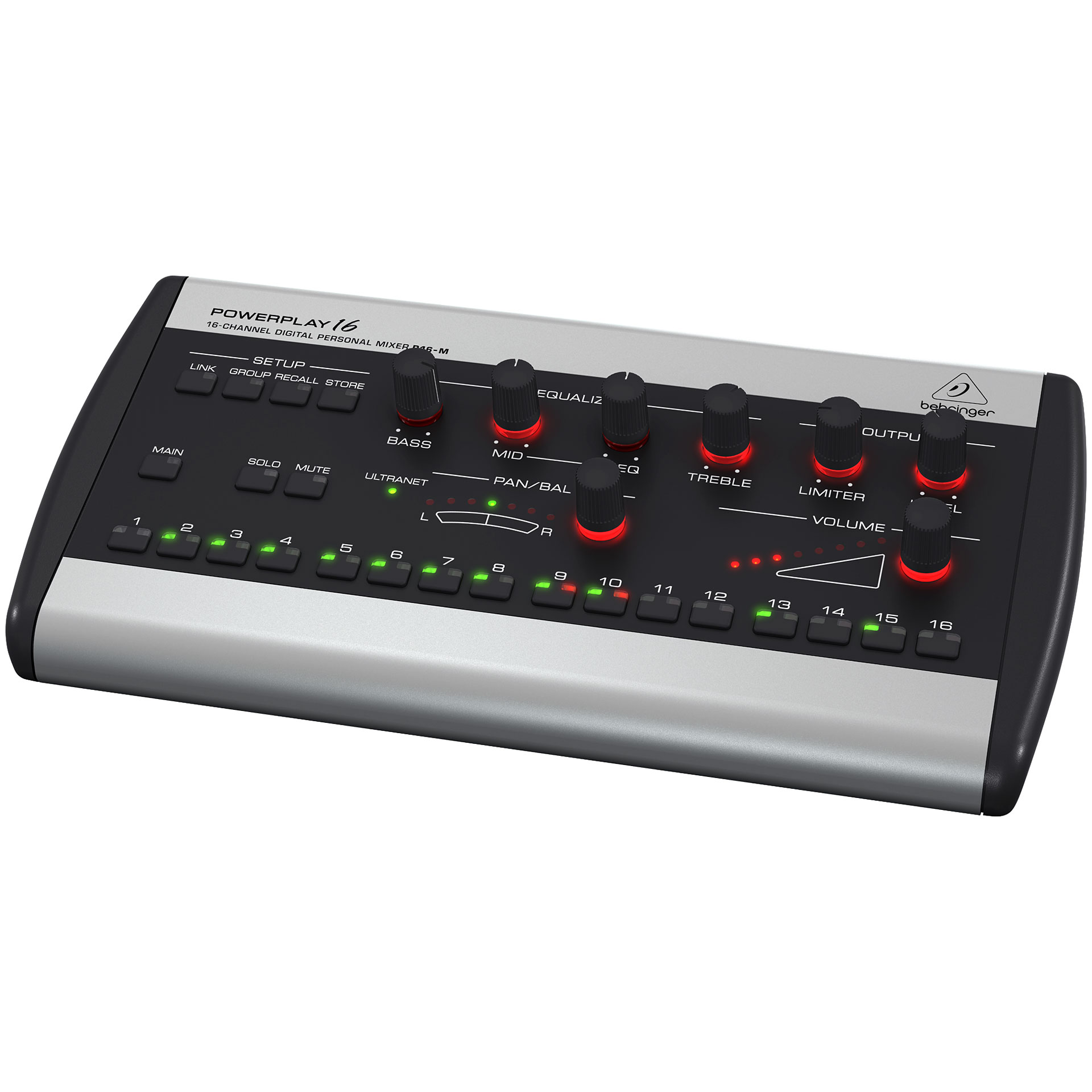 Behringer powerplay p16 m console de mixage num rique - Console numerique behringer ...