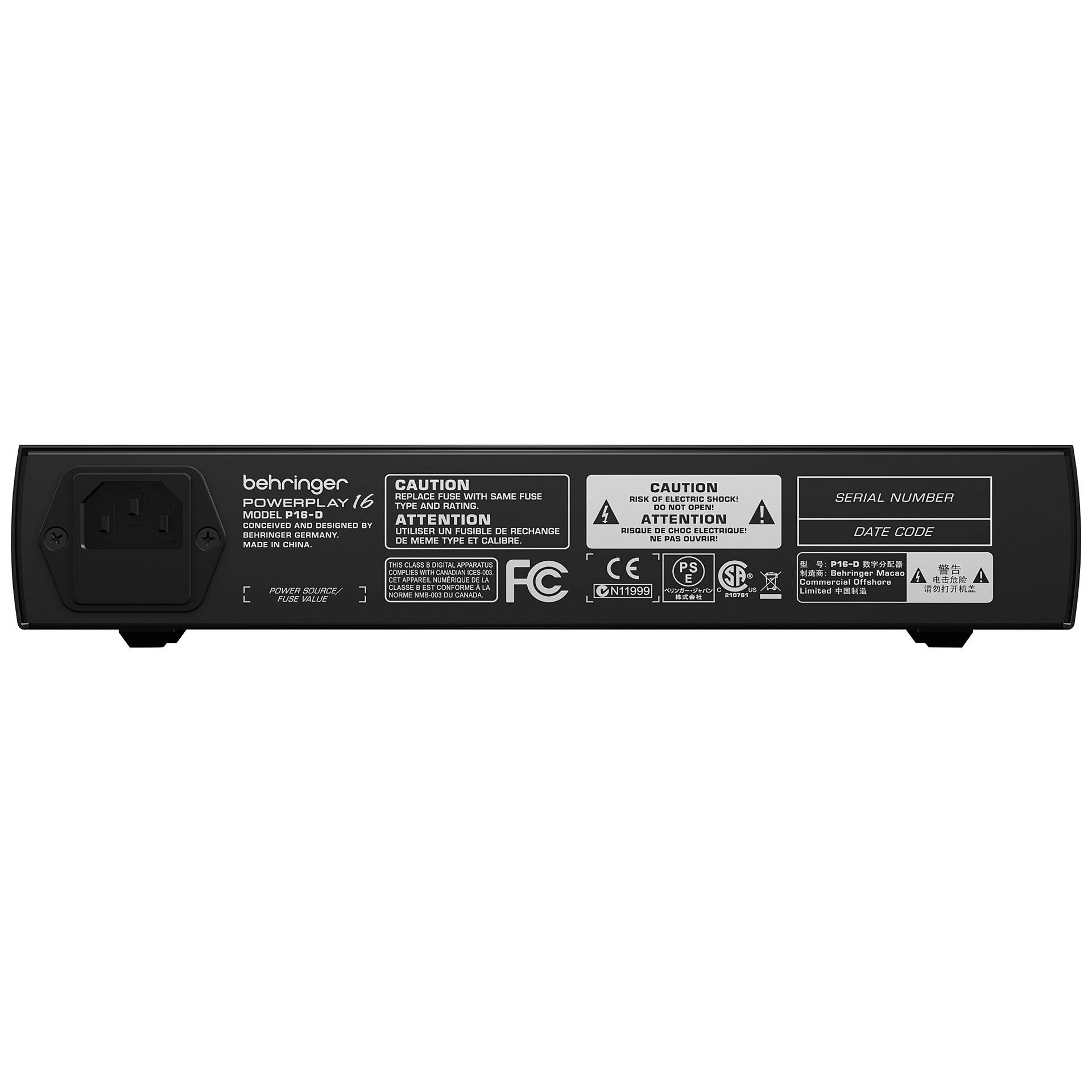 behringer powerplay p16 d ultranet digital mixer