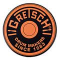 "Practice Pad Gretsch Drums 6"" Orange Round Badge Logo Practise Pad"