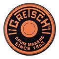 "Pad do ćwiczeń Gretsch Drums 12"" Orange Round Badge Logo Practise Pad"