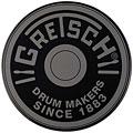 "Pad allenatore Gretsch Drums 6"" Grey Round Badge Logo Practise Pad"