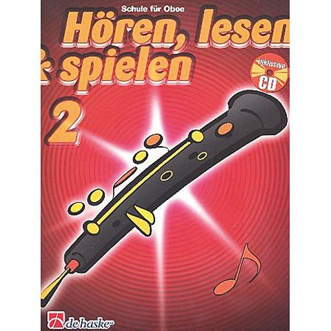 Manuel pédagogique De Haske Hören,Lesen&Spielen Bd. 2 für Oboe