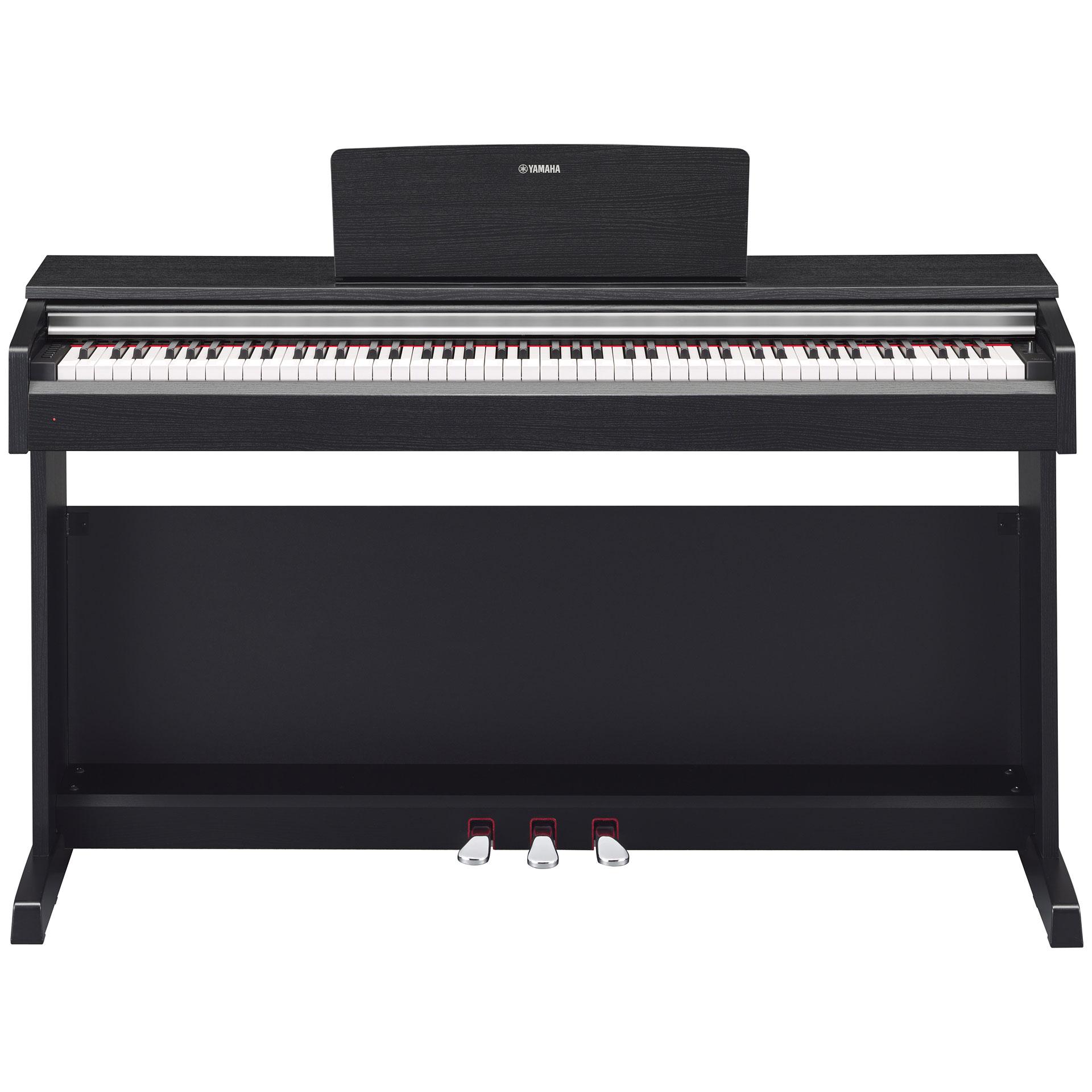 yamaha arius ydp 142 b bundle digital piano. Black Bedroom Furniture Sets. Home Design Ideas