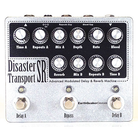 Pedal guitarra eléctrica EarthQuaker Devices Disaster Transport Sr