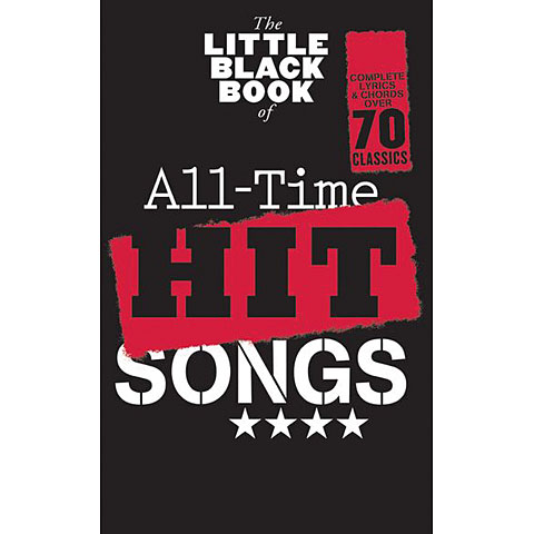 Music Sales The Little Black Songbook All-Time Hit Songs