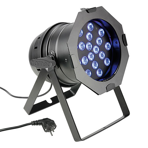 Lámpara LED Cameo PAR 64 CAN TRI 3W BS