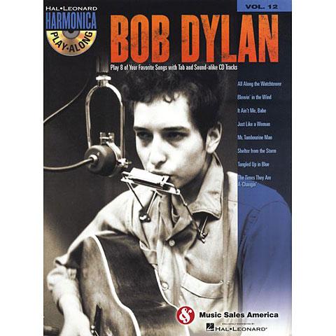 Hal Leonard Harmonica Play-Along Vol.12 - Bob Dylan