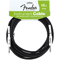 Fender Performance Black 4,5 m « Cable instrumentos