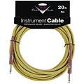 Câble pour instrument Fender Custom Shop Performance Tweed 6 m