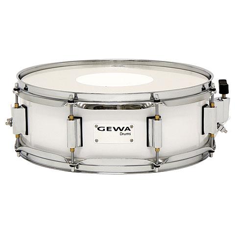 "Caja marcha Gewa Marching Snare Drum 13"" x 5"" White"