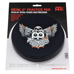 """Meinl 6"""" Jawbreaker Practice Pad MPP-6-JB"""