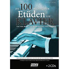 Hage Die 100 wichtigsten Etüden für Klavier « Manuel pédagogique