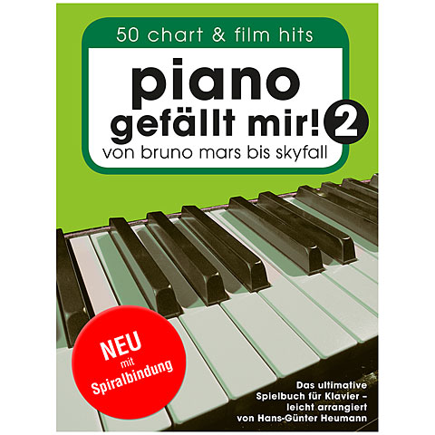 Bosworth Piano gefällt mir! 2 (Spiralbindung)