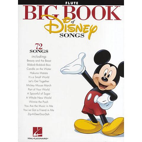 Hal Leonard Big Book Of Disney Songs for flute