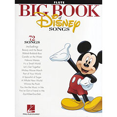 Hal Leonard Big Book Of Disney Songs - Flute « Libro de partituras