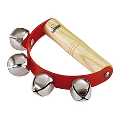 Nino Junior Sleigh Bell Red 4 Bells « Corona de campanillas