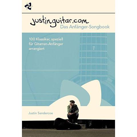 Recueil de morceaux Bosworth Justinguitar.com - Das Anfänger-Songbook
