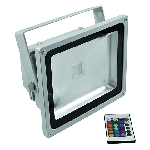 Flood Light Eurolite LED IP FL-30 COB RGB 120°