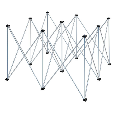 Intellistage 1x1x0,80 m Podestfuß