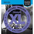 Struny do gitary elektrycznej D'Addario EXL115BT Nickel Wound .011-050